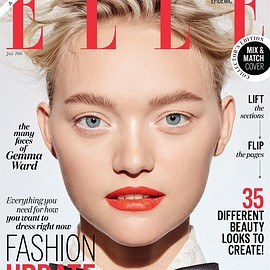 ELLE Australia, Gemma Ward - July 2016 Issue(Cover:Gemma Ward)