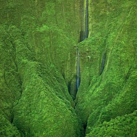 Hawaii - Honokohau Falls in Maui
