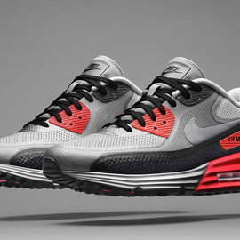 Nike - Air Max 90 Lunar - Infrared/Medium Grey/White/Black