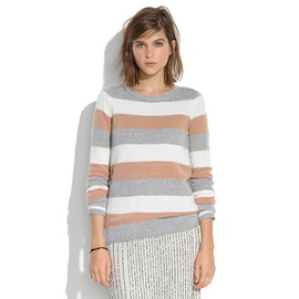 Madewell - Tri-Striped Gamine Sweater