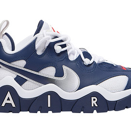 NIKE - Air Barrage Low - Navy/White/Red
