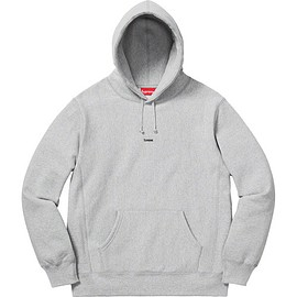 Supreme - Micro logo hooded sweater