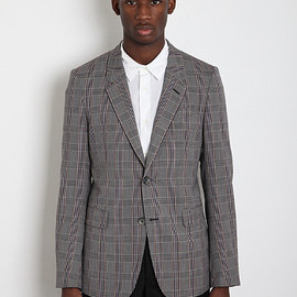 Alexander McQueen - Check Suit Jacket