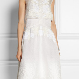 ERDEM - Carenza organza-jacquard dress