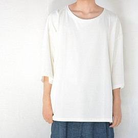 house of the very island's - ルーズシルエットカットソー( white )