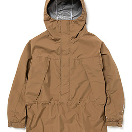 nonnative - HIKER HOODED PULLOVER JACKET POLY TAFFETA WITH GORE-TEX INFINIUM™