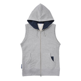 LOOPWHEELER - LW Light Hood Vest