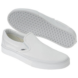 "VANS - Slip On ""All White"""