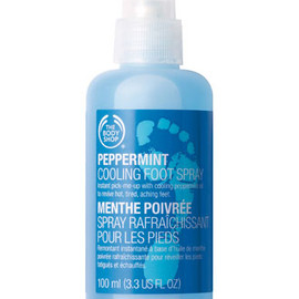 THE BODY SHOP - PEPPERMINT COOLING FOOT SPRAY