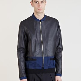 Tim Coppens - Tim Coppens Men's Lamb Leather Blouson