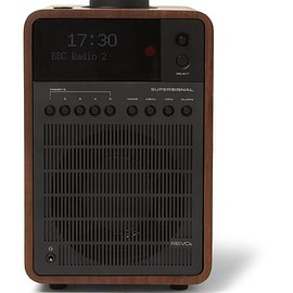 Revo - SuperSignal Walnut and Aluminium DAB/DAB+/FM Table Radio