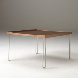 Finn Juhl - Table, Metal & Wood, 1660's