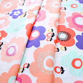 Art Gallery Fabrics - Geometric Bliss Radical Blooms Blush