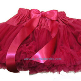 "Belle Ame - Belle Ame ""Mini-Pettiskirt"" in Raspberry - Denim & Daisies"