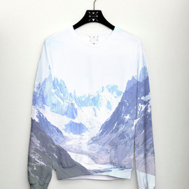 CSERA - Mountain Womens Sweater Full Print Jumper Fashion Womens Top Mens Sweater Trend 2014 Fashion
