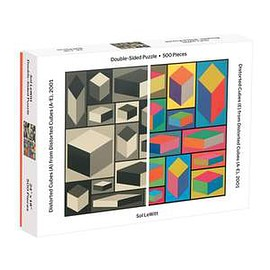 Galison - MoMA Sol Lewitt 500 Piece 2-sided Puzzle 2-sided 500 Piece Puzzles Galison