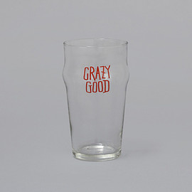 STUSSY Livin' GENERAL STORE - GS Pint Glass