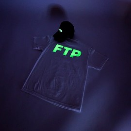 fuckthepopulation - GLOW IN THE DARK LOGO HAT