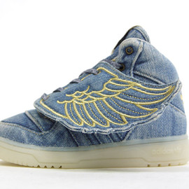 adidas - JS ADIWINGS DENIM I 「adidas Originals by JEREMY SCOTT」 「LIMITED EDITION for DESIGN COLLABORATIONS」