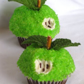 Cupcakes - Apples