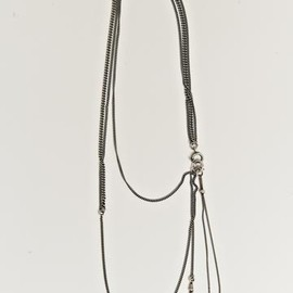 Ann Demeulemeester - Silversand Medallion Necklace
