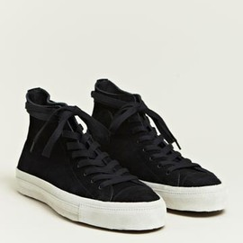 Sunsea - High Cut Suede Trainers