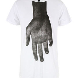 ODEUR - Askew White T-Shirt