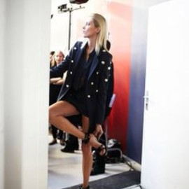 Anthony Vaccarello - back stage