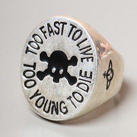 Vivienne Westwood - JEWELLERY T.F.T.L Embossed Ring