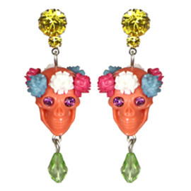 TARINA TARANTINO - SUGAR SKULL DROP EARRINGS