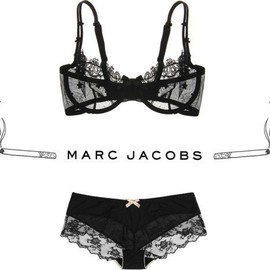 MARC JACOBS - black lace