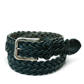 Whitehouse Cox - ホワイトハウスコックス | P2258 35mm PLAITED BELT / FULL GRAIN