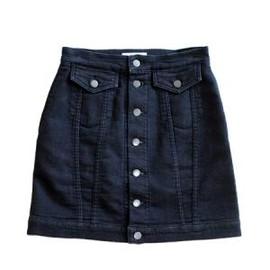 PHEENY - Denim skirt (INDIGO)