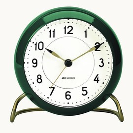 Arne Jacobsen - Table Clock Station Green