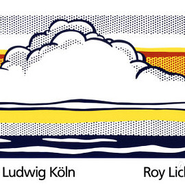 Roy Lichtenstein - 雲と海, 1964