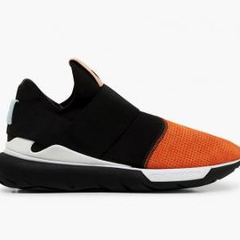 adidas - ADIDAS Y-3 QASA LOW BLACK/ORANGE