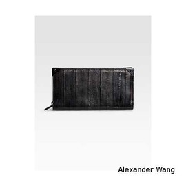 Alexander Wang - Prisma Long Compact Eel Leather Wallet