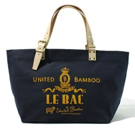 united bamboo - LEATHER HANDLE TOTE BAG