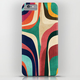 Society6 - Impossible contour map iPhone & iPod Case