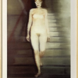Gerhard Richter - Ema (Nude on a Staircase)