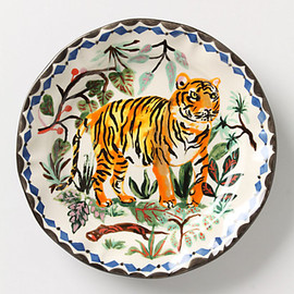Anthropologie - Le tigre plate