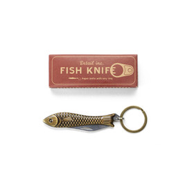 "DETAIL INC. - Fish Knife ""Brass"" ペーパーナイフ"
