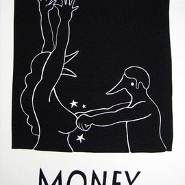 Parra - Money – 2010 silkscreen 70×100 cm edition of 9