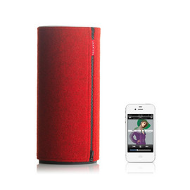 Libratone - ZIPP Wireless Airplay Speaker (Raspberry Red)