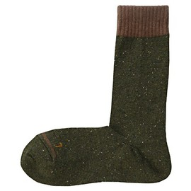 MUJI - R&L Wool Nep Good Fit Right Angle Socks
