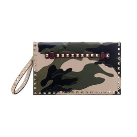 VALENTINO - Studed Clutch