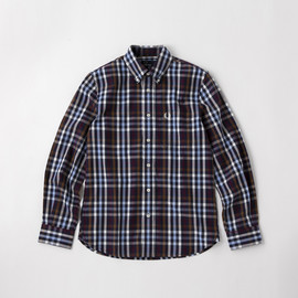 Fred Perry - Herringbone Check Shirt/M5395J