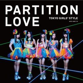 東京女子流 - Partition Love (SINGLE+DVD) (TYPE-B)