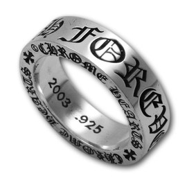 "CHROME HEARTS - 6mm Spacer Ring ""Forever"""
