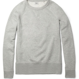 ACNE - Acne College Loopback-Cotton Sweatshirt